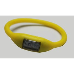 TRU Yellow Silicone Band Lightweight Water-resistant Sports Watch