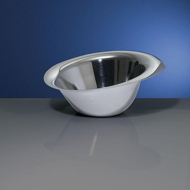 Yamazaki Tantalyn 14.5-inch Stainless Steel Salad Bowl