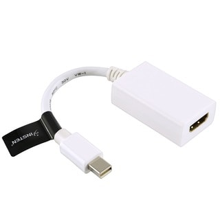 INSTEN Mini DisplayPort to HDMI Male/ Female Adapter