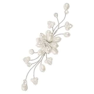 Handmade Stainless Steel 'Bouquet' Freshwater Pearl Brooch (8 mm) (Thailand) https://ak1.ostkcdn.com/images/products/5563495/P13334574.jpg?impolicy=medium