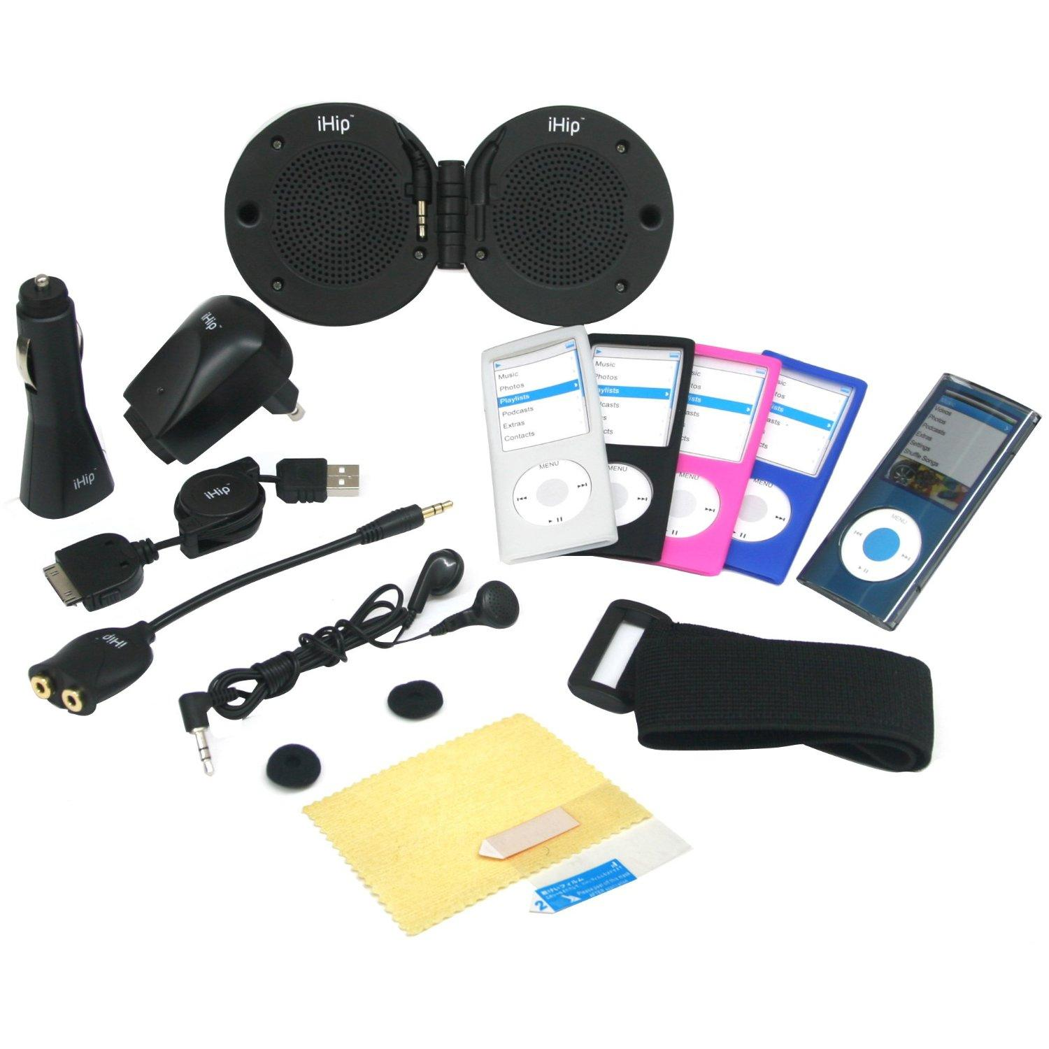 iHip 14-in-1 iPod Nano Speaker System Accessory Kit