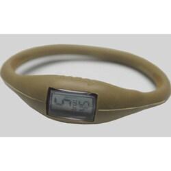 TRU: Metallic Gold Silicone Band Sports Watch - Thumbnail 0
