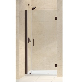 DreamLine Unidoor 33-37x72-inch Frameless Hinged Shower Door