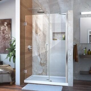 DreamLine Unidoor 41 - 45 in. Frameless Hinged Shower Door