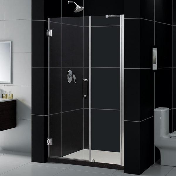 dreamline unidoor 5455inch frameless shower unit