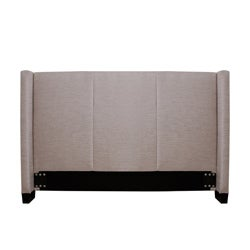 Carrie Natural Fabric Queen-size Headboard - Thumbnail 2