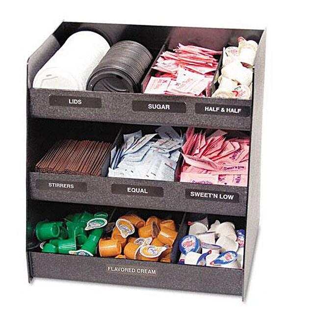 Vertiflex Black Vertical Condiment Organizer - Free ...