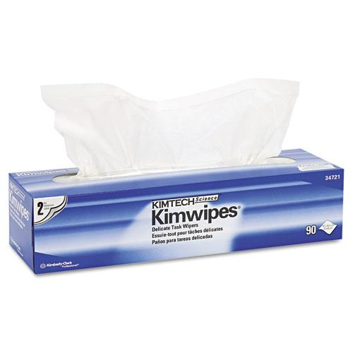 Kimberly-Clark Kimwipes Delicate Dry White Unscented Task Wipes