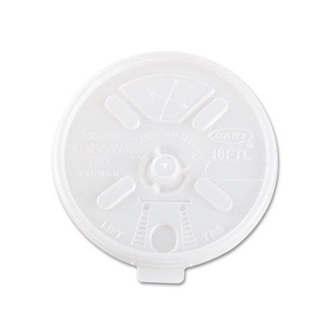 Dart Translucent Lids for 12 to 24-oz Foam Cups