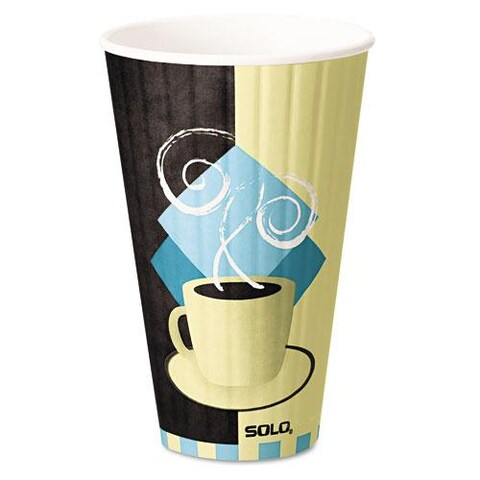 SOLO Duo Shield Hot Insulated 20-oz Paper Cups (Case of 350)