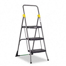 Cosco Commercial 3-step Folding Step Ladder