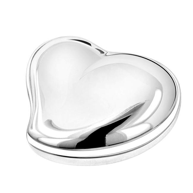 Beating Heart Silver Jewelry Box