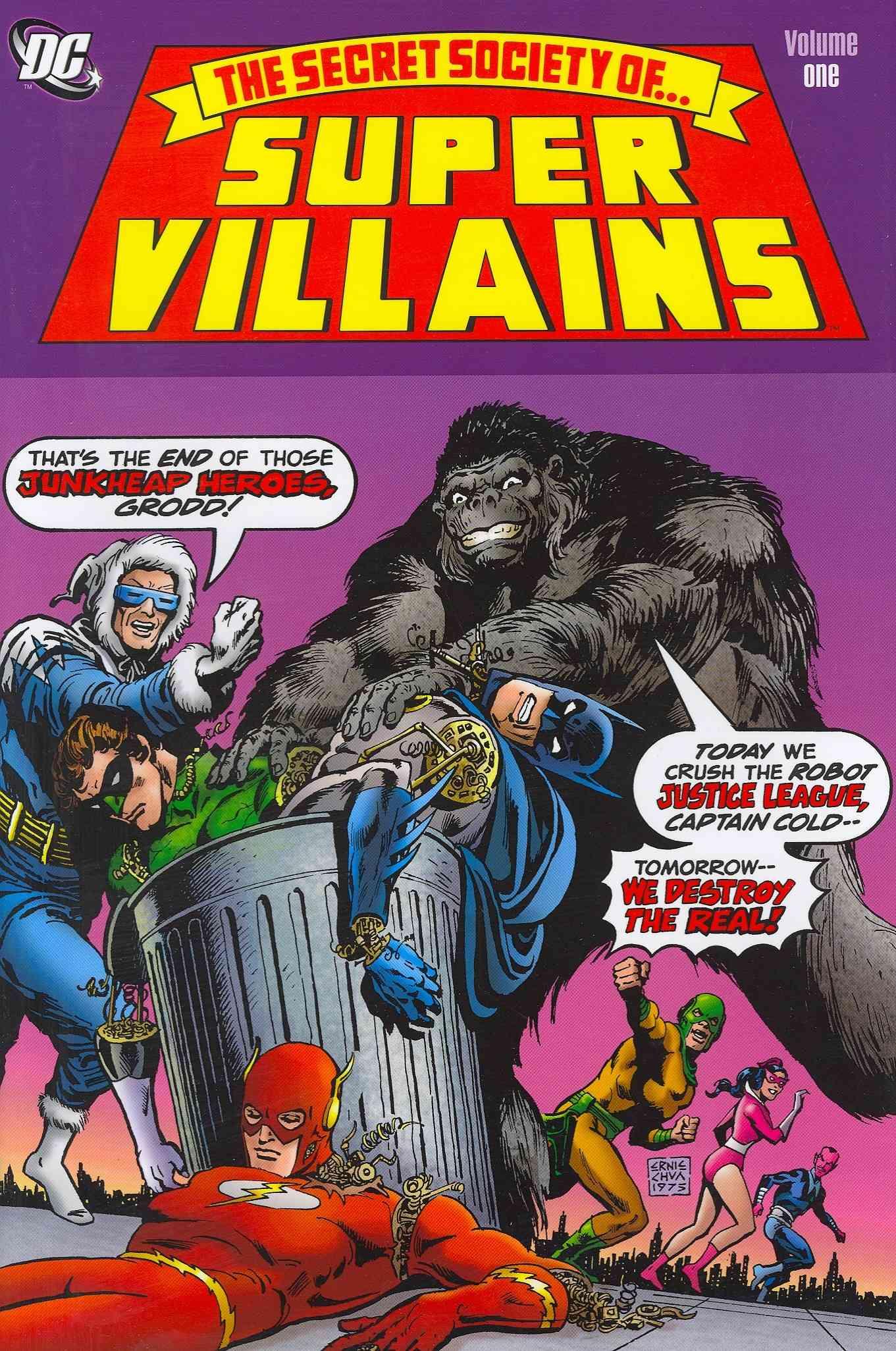 The Secret Society of Super-Villains 1 (Hardcover)