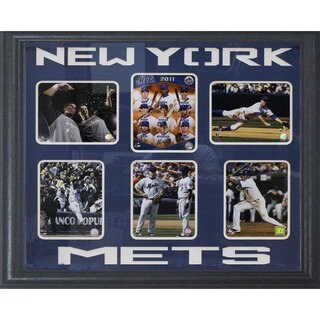 New York Mets 6-Photograph Deluxe Frame (30 x 34)