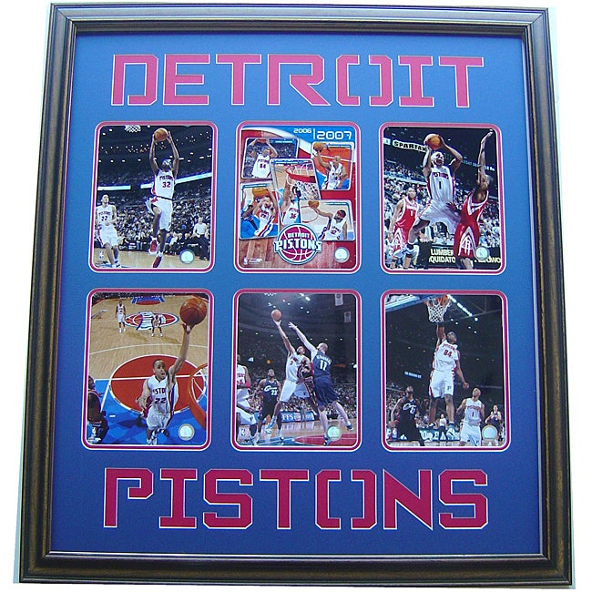 Detroit Pistons 2007 30-inch x 34-inch Deluxe Photograph Frame