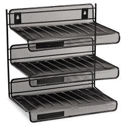 Rolodex Mesh 3-tier Desk Shelf