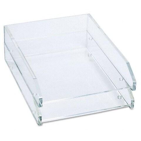 Kantek Clear Front-load Desk Tray