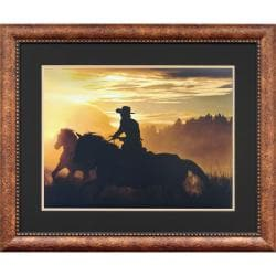 Goodrich 'Sunset Glow' Framed Wall Art