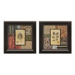 Michael Marcon 'September Leaves' 2-piece Framed Wall Art