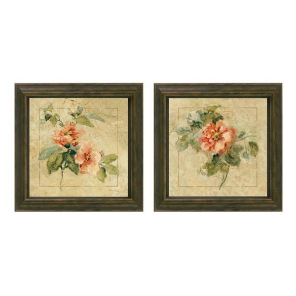 Cheri Blum \'Provence Rose\' Framed Wall Art (Set of 2) - Free ...