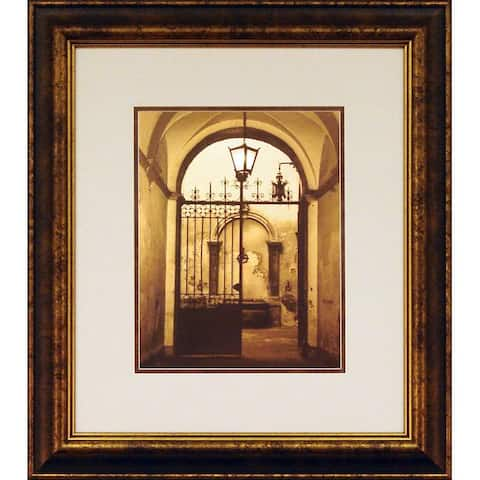 Marina Gilboa 'Bella Siena' Framed Wall Art
