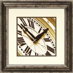 Richard Hall 'World Clock I' Framed Wall Art - Thumbnail 0