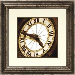 Richard Hall 'World Clock II' Framed Wall Art