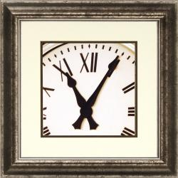 Richard Hall 'World Clock III' Framed Wall Art