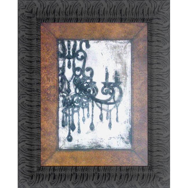 Norman Wyatt Jr Antique Chandelier I Framed Wall Art Ebay