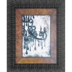 Norman Wyatt Jr 'Antique Chandelier I' Framed Wall Art