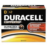 Duracell Coppertop Alkaline D Batteries (Pack of 12)
