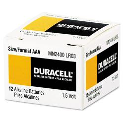 Duracell Coppertop Alkaline AAA Batteries (Case of 24)