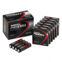 Duracell Procell Alkaline AAA Batteries (Case of 24)