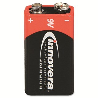 Innovera Alkaline 9V Batteries (Pack of 4)