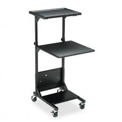 Balt Black Steel Adjustable Projection Stand