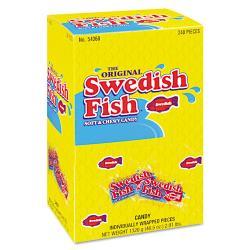 Cadbury Adams Swedish Fish Box