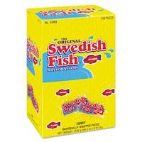 Cadbury Adams Swedish Fish Box