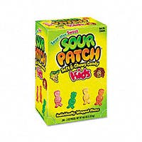 Cadbury Adams Sour Patch Fruit Candy Box