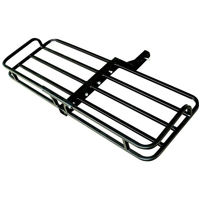 ATV/UTV Two-inch Receiver Hitch Hauler with Black Powder-coated Finish