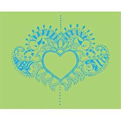 Peace, Love & [Bump] Unity Maternity Top - Thumbnail 1