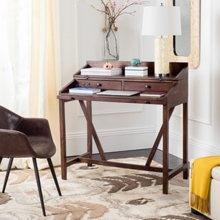 Safavieh Derby Dark Walnut Writing Desk