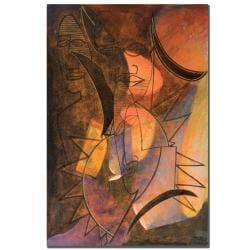 Garner Lewis 'My Soul is Alive' Canvas Art