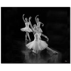 Martha Guerra 'Ballet' Canvas Art