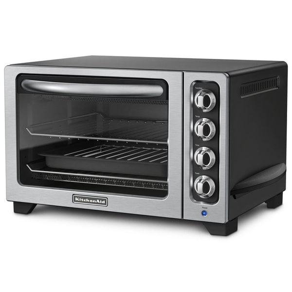 Kitchenaid Kco222ob Countertop Oven Onyx Black : KitchenAid KCO222OB Onyx Black 12-inch Countertop Oven - Free Shipping ...