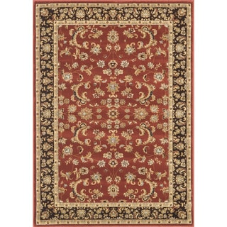 Primeval Red Oriental Rug (3'10 x 5'7)