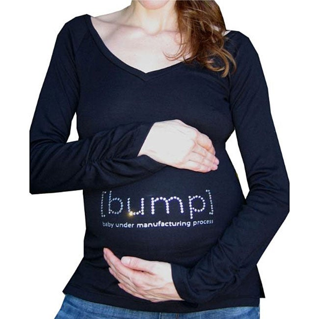 [Bump] Crystal Long-sleeve Maternity Top