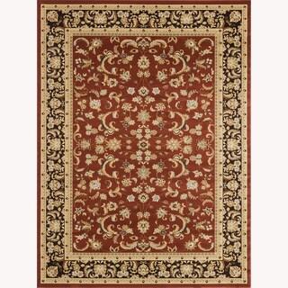Primeval Red Oriental Rug (9'2 x 12'7)