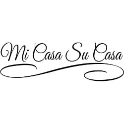 Design on Style 'Mi Casa Su Casa' Vinyl Art Quote