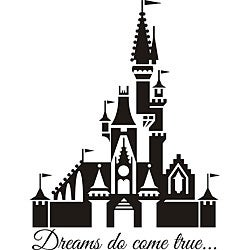Design on Style 'Dreams Do Come True' Vinyl Art Quote