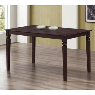 Espresso 60-inch Wood Dining Table